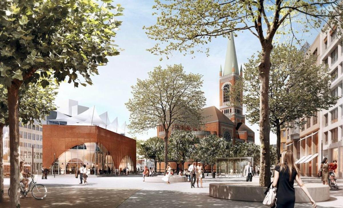 Pavillon, bâtiment futuriste !