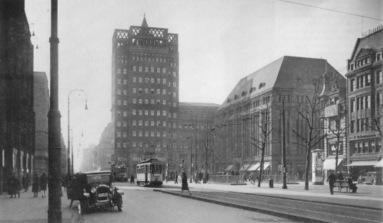 Carschhaus en 1930 - Source Stadtarchiv Düsseldorf