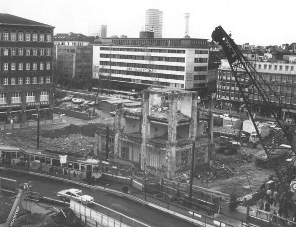 Démontage en 1979 - Source Stadtarchiv Düsseldorf
