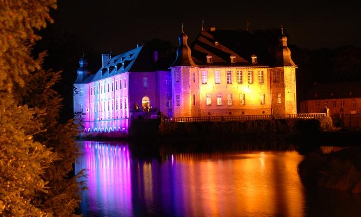 Illumina Schloß Dyck Foto:M.Reuter