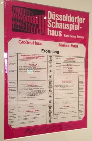 Exposition 2017 Der Kampf ums Düsseldorfer Schauspielhaus au Theatermuseum