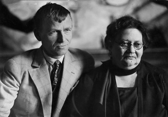 Otto Dix und Johanna EyD¸sseldorf 1923