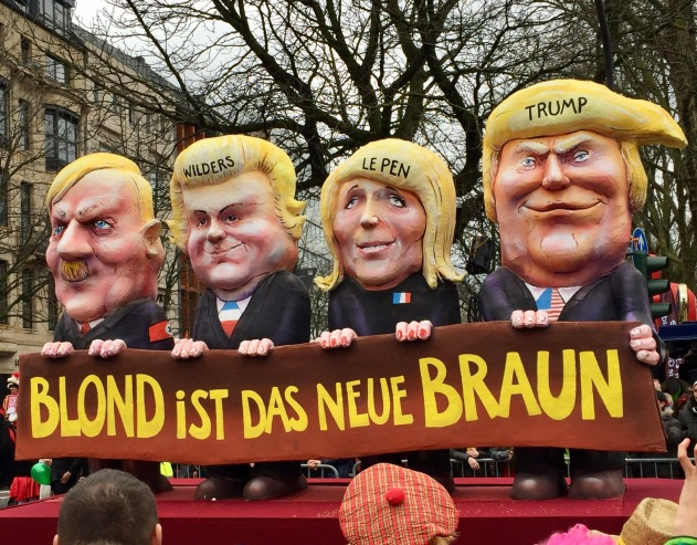 © Nath in Dass, Carnaval 2017, Nazi-Wagen - Jacques Tilly