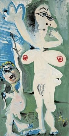 © Pablo Picasso, Venus und Amor, 1968