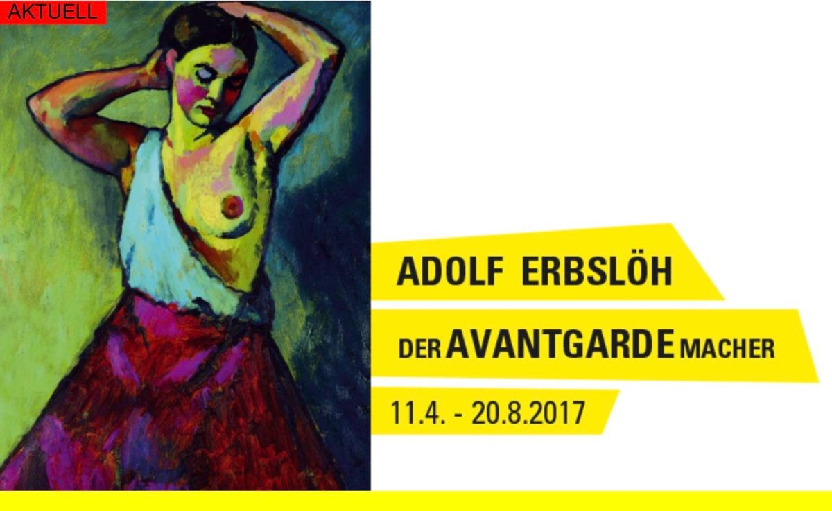 Adolf Erbslöh, peintre expressionniste et avant-gardiste, au Von der Heydt-Museum jusqu'au 30 août 2017 !
