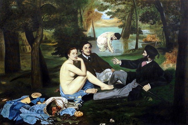 D-jeuner-sur-l-herbe-1863-par-Edouard-Manet-Peinture-Toile-Art-Photos-Peint-La-Main.jpg_640x640