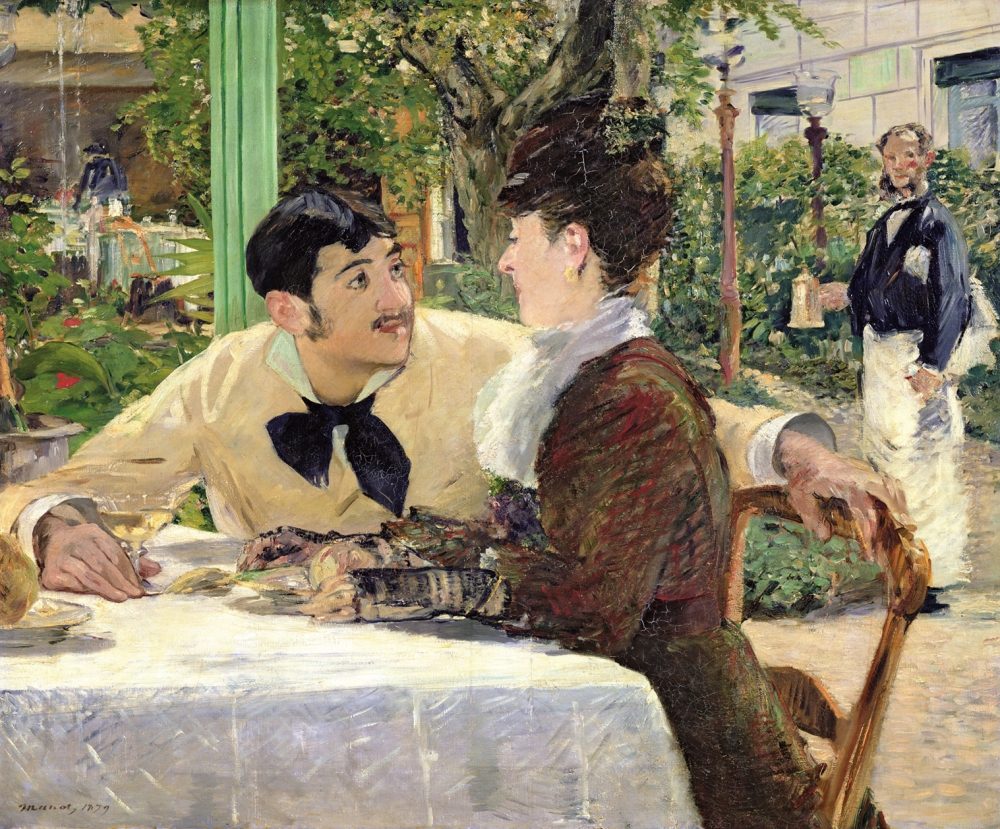 The Garden of Pere Lathuille, 1879 (oil on canvas)