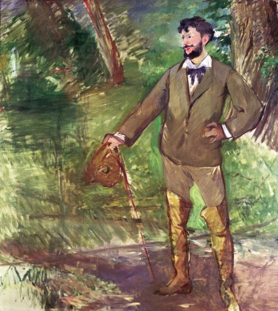 Edouard Manet - Portrait d'Emile Auguste Carolus-Duran - 1876