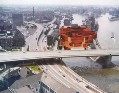 Der Berger Hafen 1970 (Fotograf: Kastner/Bildrechte: Stadtarchiv Düsseldorf)