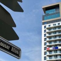 25hours Hotel Das Tour, petit Paris à Düsseldorf !