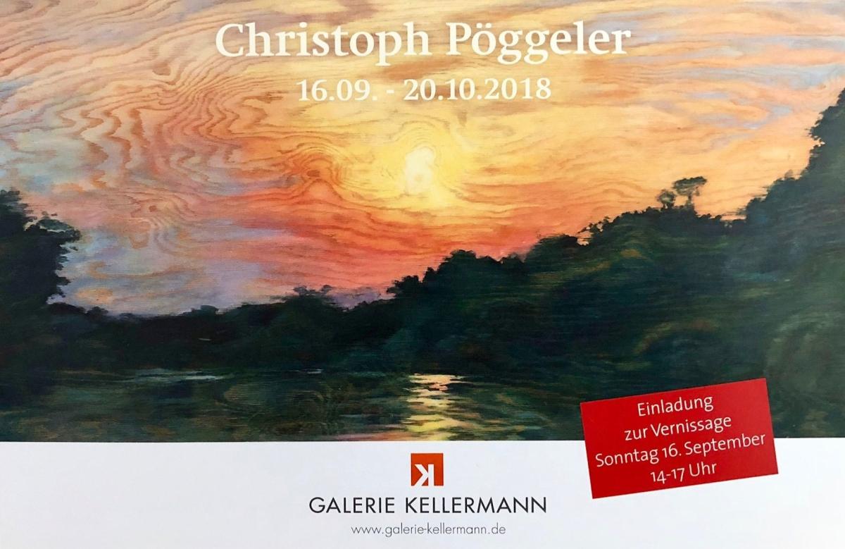 Christoph Pöggeler, à la découverte de ses dernières œuvres, jusqu'au 20 octobre !