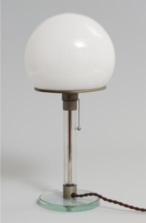 BauhauslampdeWilhelm Wagenfeld (1923)