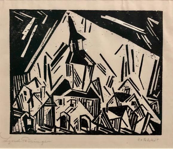 Exposition Bauhaus am Folkwang, Lyonel Feininger, Museum Folkwang © Nath in Düss
