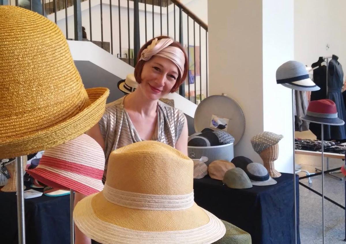 Laurence Leleux, créatrice de chapeaux sous toutes ses formes !