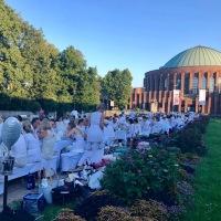 Dîner en Blanc, une tradition française à Düsseldorf !