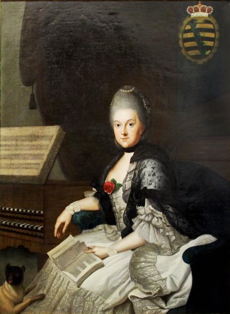 La duchesse Anna Amalia de Brunswick