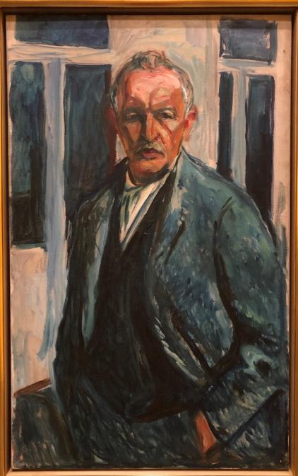 Edvard Munch, Selbstbildnis, 1923-26 / Foto: © Nath in Düss