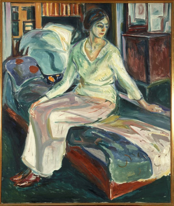 Edvard Munch, Seated Model on the Couch, 1924-26 / Foto: © Kunstsammlung NRW