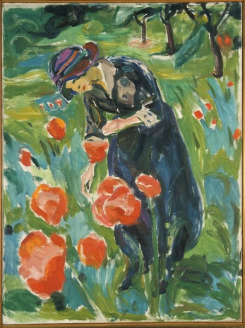Edvard Munch, Woman with Poppies, 1918–19 / Foto: © Kunstsammlung NRW