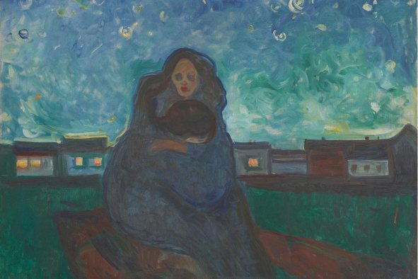 Edvard Munch, Under the Stars, 1900-05 / Foto: © Kunstsammlung NRW