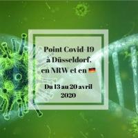 Covid-19, point quotidien sur la situation à Düsseldorf et en NRW #semaine5