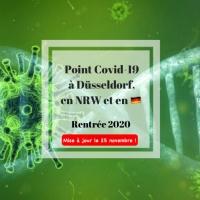 Covid-19, point sur la situation à Düsseldorf et en NRW #rentrée2020